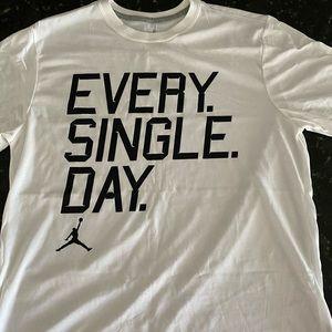 "Jordan ""Every Single Day"" Tshirt NEW"